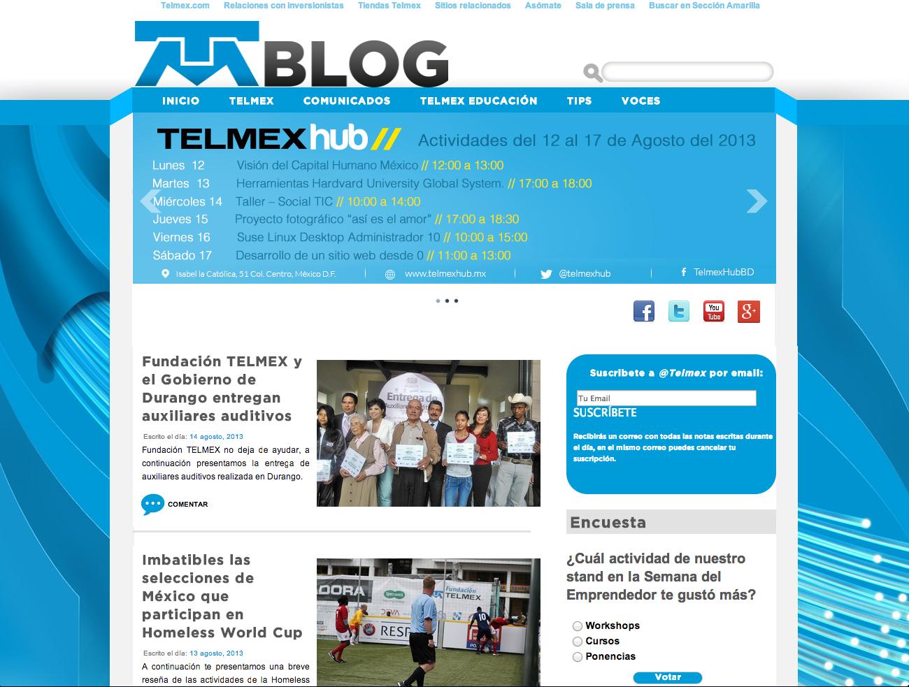 Telmex Blog
